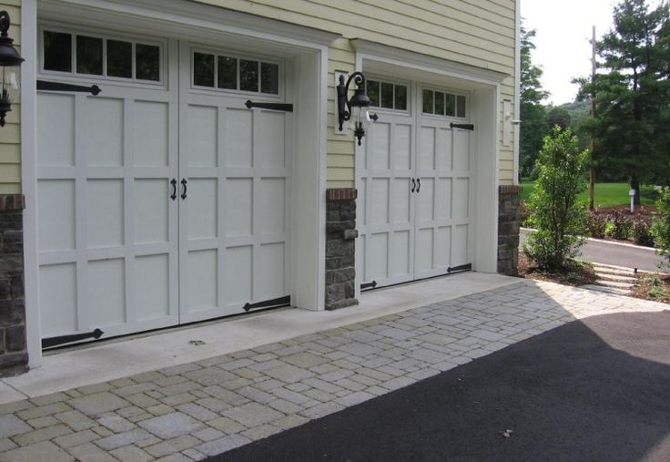Driveways And Paver Aprons Sietsma Landscape Garage In
