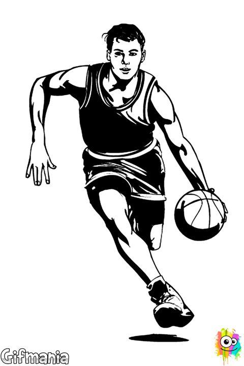 jugador de baloncesto #baloncesto #deporte #baloncestista #dibujo ...