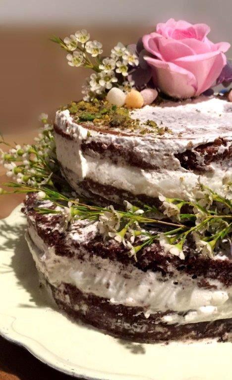 Torta Fiorita Ciocco-Vaniglia. la ricetta sul nostro sito