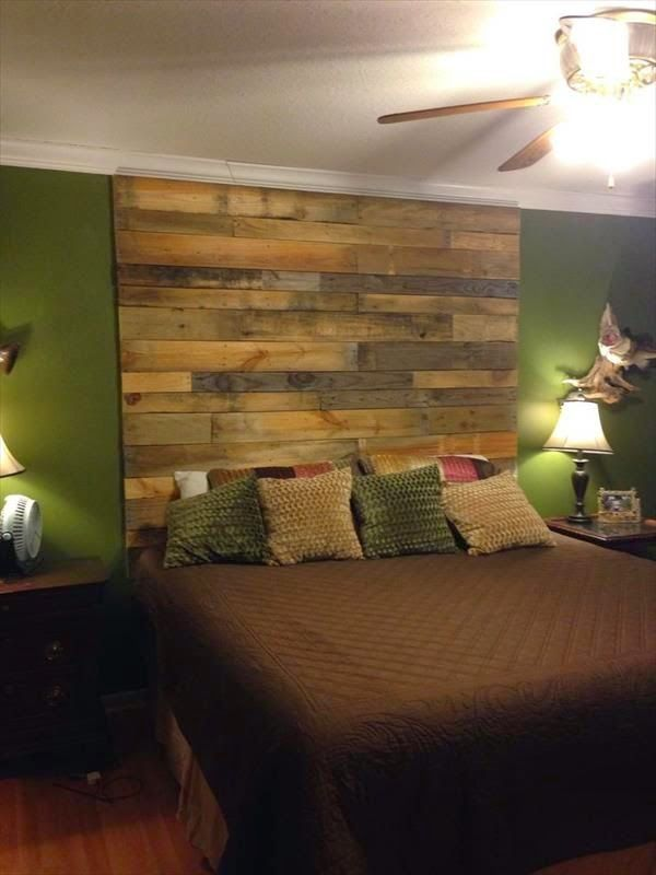 Pallet Wall. #pallets