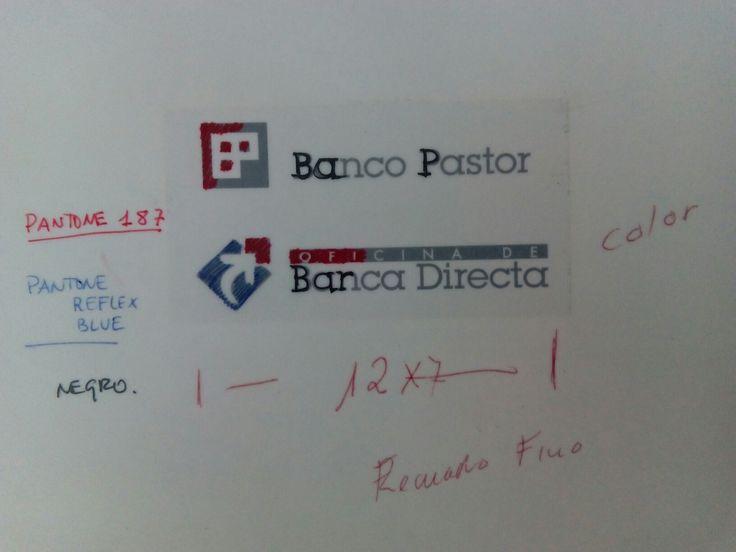 #bancopastor a la vieja usanza, conservado en el Centro de Documentación Publicitaria. Erase una vez, cuando los letrasets, retromaster, ampliadora, fotolitos, cuentahilos y demás .