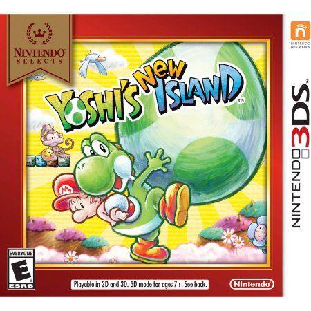 Yoshi's New Island - Nintendo Selects (Nintendo 3DS), Multicolor