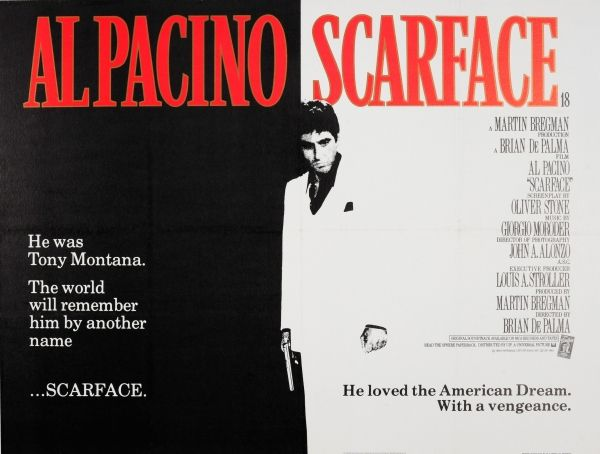 For Sale / Posters - Cinema in 2020 | Movie posters vintage, Scarface poster, Al pacino