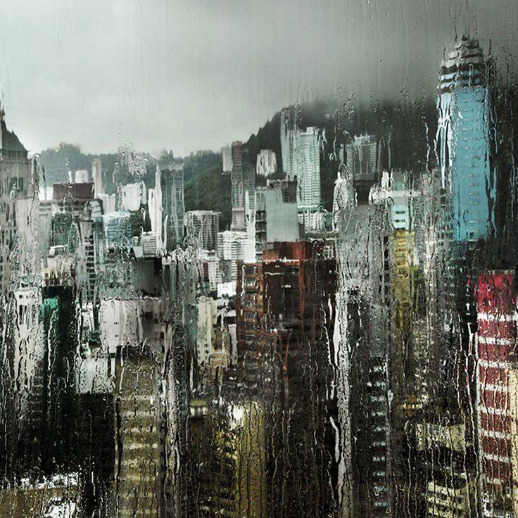 Fotografias chuvosas de Christophe Jacrot