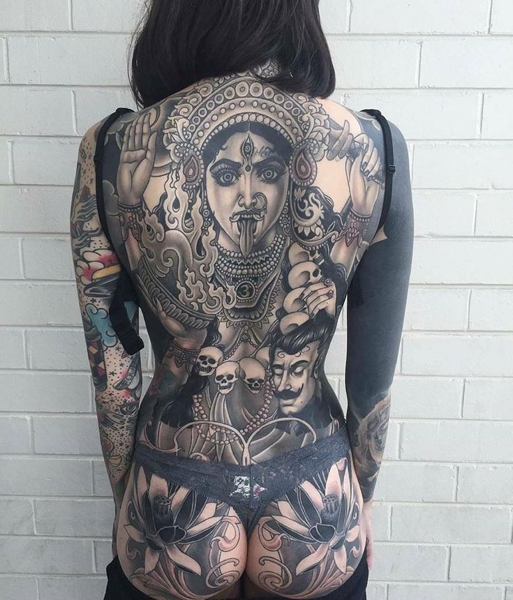 Shiva indu tattoo back @lucy_molloy