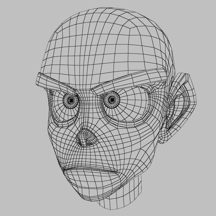 topology 3d head