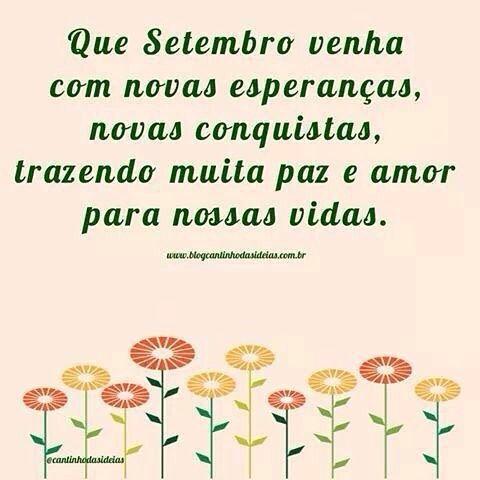 Bem vindo setembro!  #mae_festeira #setembro