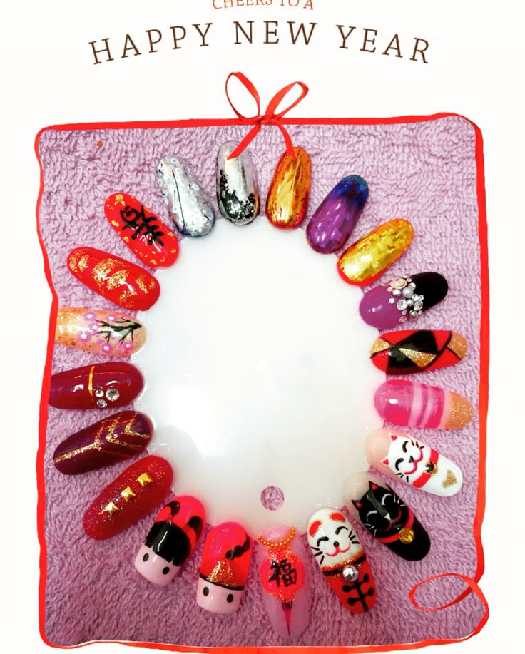 65 best 2017 Chinese New Year Nail Art Design images on ...