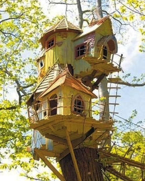 amazing treehouse, wouldn't this be fun