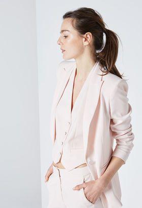 low price sale really cheap where can i buy Veste tailleur femme rose pale – Vestes élégantes populaires