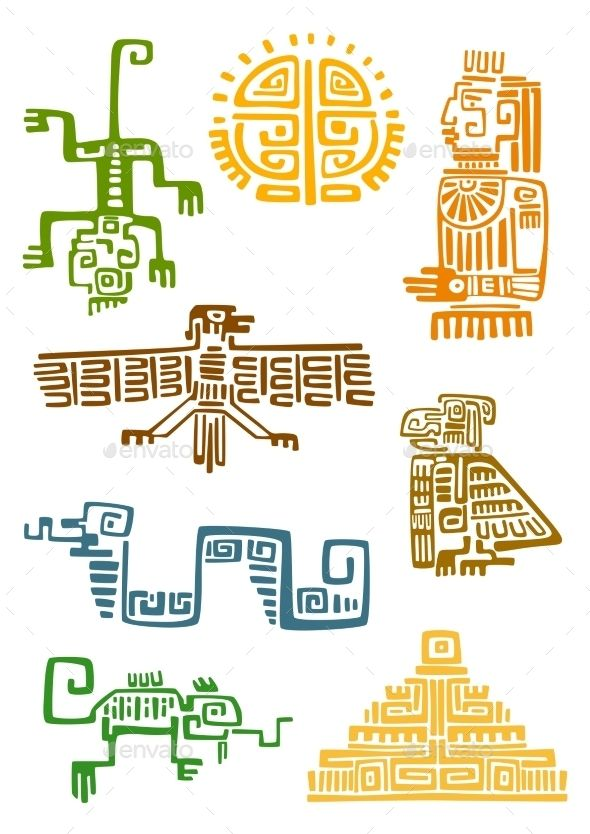 25 best ideas about aztec symbols on pinterest aztec