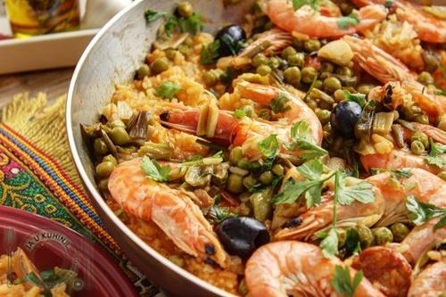 Španska paella (video recept)