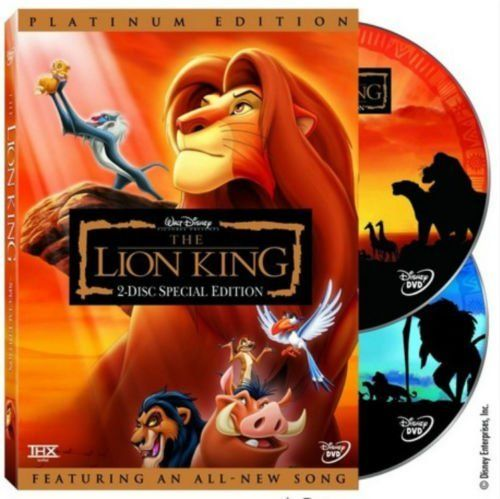 cool The Lion King Platinum Version 2003 DVD Options an All-New Music 2-Disc Set   Check more at http://harmonisproduction.com/the-lion-king-platinum-version-2003-dvd-options-an-all-new-music-2-disc-set/