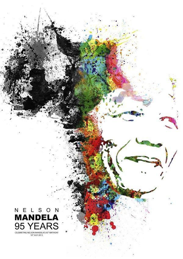 Awarded (Nelson Mandela 95th Birthday Poster Project Competition) - Fabio do Prado