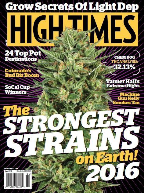 High Times PDF MaGaZiNe June 2016 medical marijuana cannabis PDF