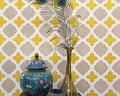 Decoración DIY baldosas pared patrón - patrones de plantilla reutilizable para las paredes como papel tapiz - marroquí
