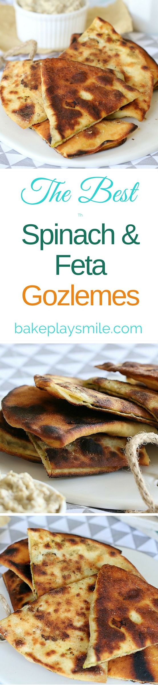 Oh my gosh!! You are seriously going to love these Spinach & Feta Gozleme. cook them on a BBQ or grill for a simple dinner or a yummy lunch! #spinach #feta #gozleme #recipe #easy #BBQ #grill