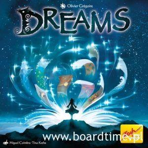 Dreams - milion gwiazd na niebie lśni. Recenzja - Board Times - gry planszowe to nasza pasja