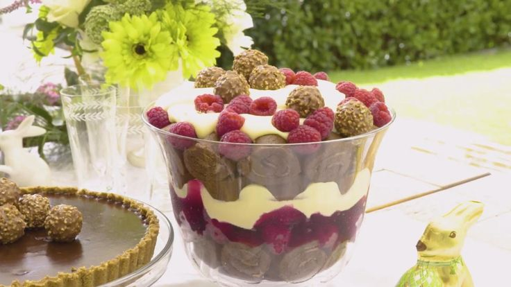 How to make an Easter trifle