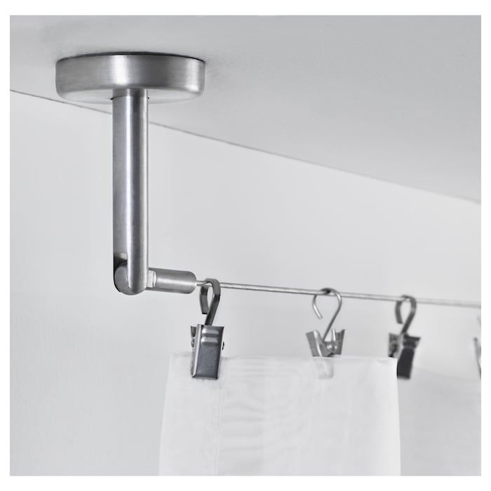 Dignitet Curtain Wire Stainless Steel 197 In 2020 Curtain