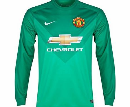 Nike Manchester United Goalkeeper Shirt 2014/15 Manchester United Goalkeeper Shirt 2014/15TEAM LOYALTY. TOTAL COMFORT.The 2014/15 Manchester United Goalkeeper Shirt is made with sweat-wicking fabric for lightweight comfort that lasts the whole 90  http://www.comparestoreprices.co.uk/sportswear/nike-manchester-united-goalkeeper-shirt-2014-15.asp