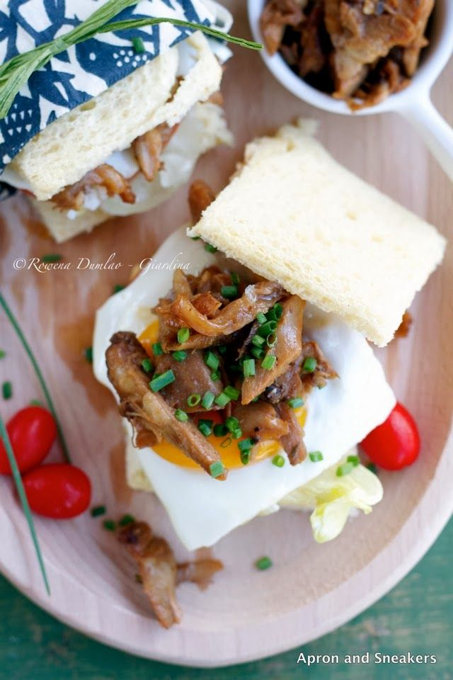 Apron and Sneakers - Cooking & Traveling in Italy and Beyond: Chicken Adobo Sandwich