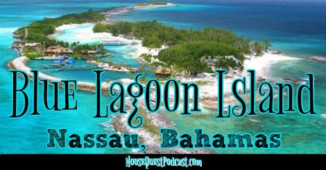 When cruising to Nassau, Bahamas, there are many excursion options. For our voyage on Disney Cruise Line we did the dolphin encounter at Blue Lagoon Island.