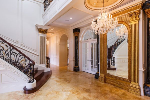 Beverly Foyer Mirror : Best images about luxury house properties on pinterest