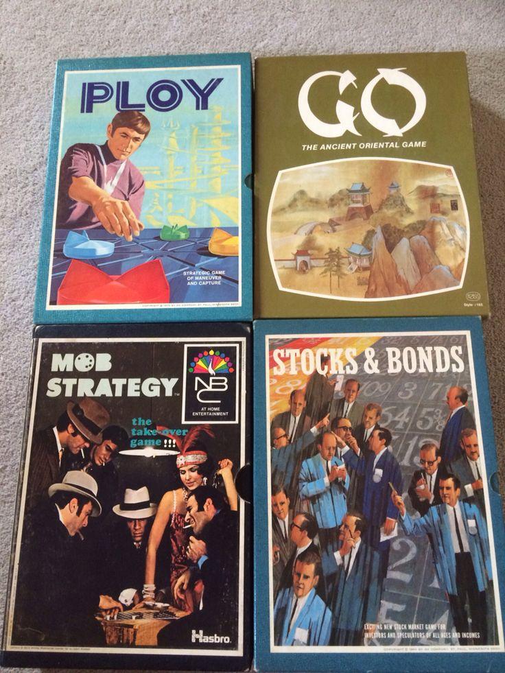 Vintage bookcase games