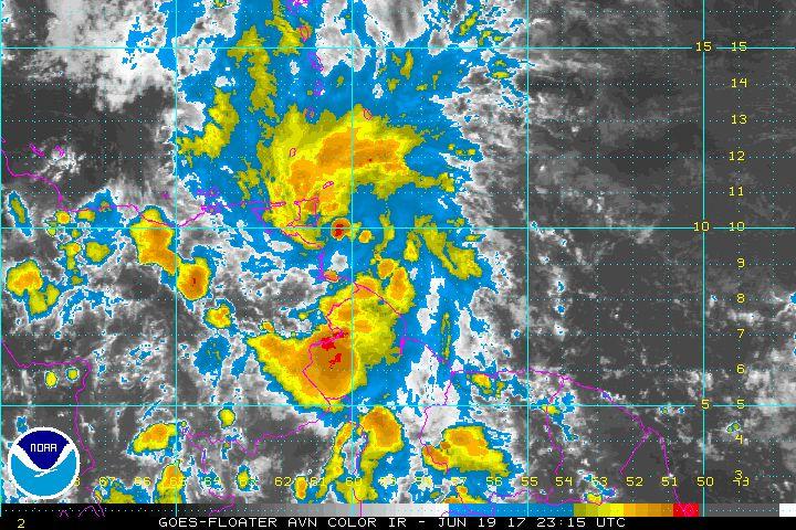 Tropical Storm Bret radar image_avn0-lalo_NOAA-NHC