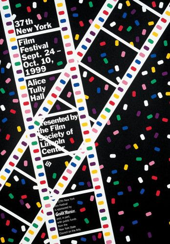 37th New York Film Festival poster - 1999