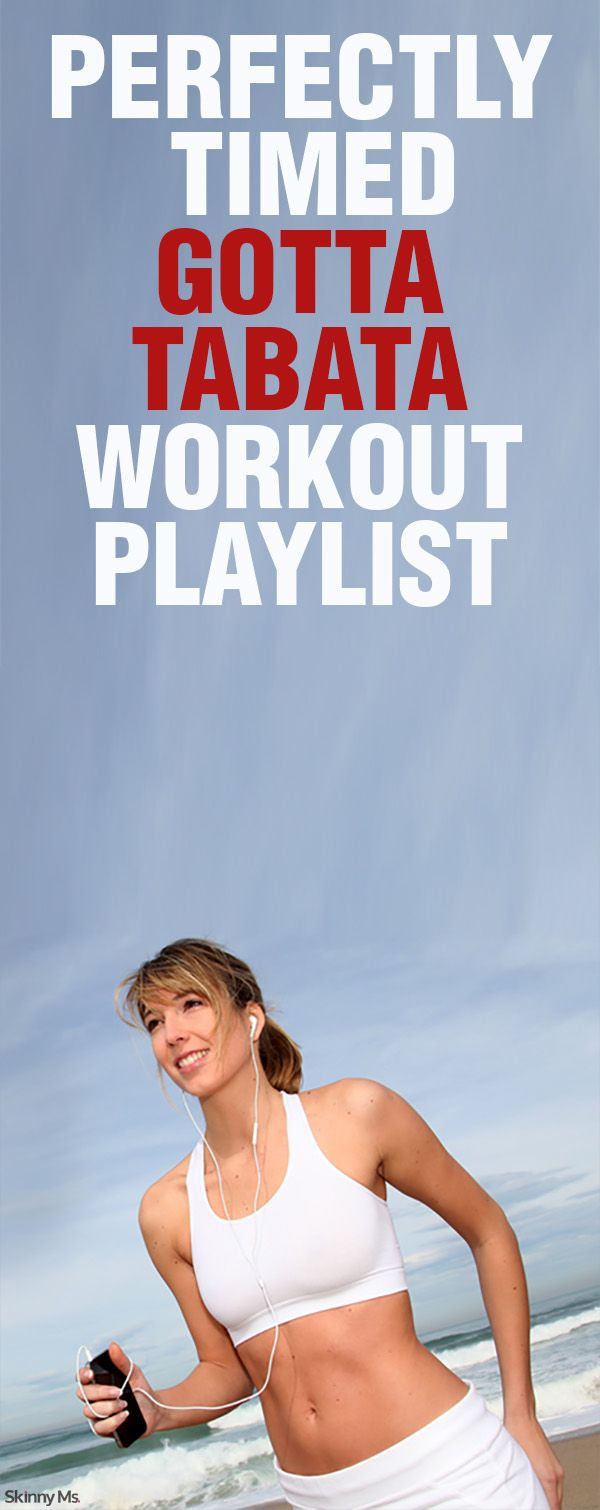 Fast paced Tabata Workout Playlist! Perfect songs to push through any workout. Pin now, Play later #workoutmusic #tabata