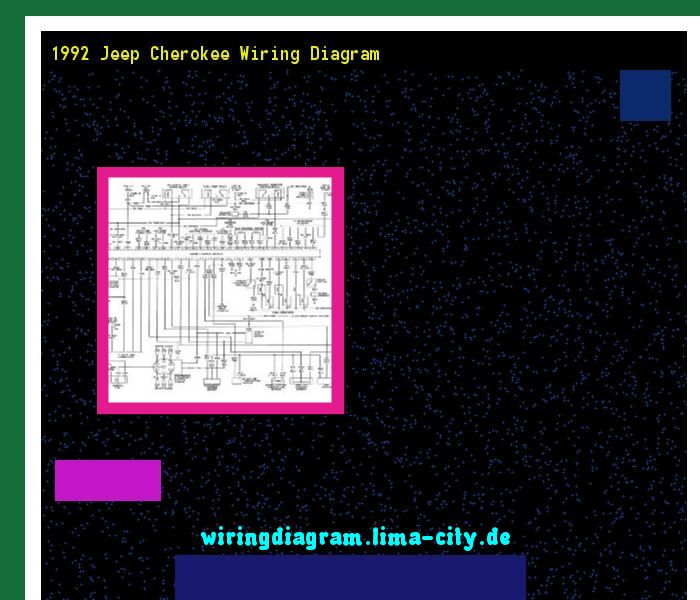 1992 Jeep Cherokee Wiring Diagram  Wiring Diagram 191