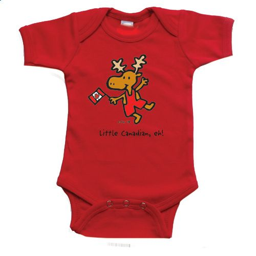 Onesie for infants - Little Canadian, eh! - $16.99