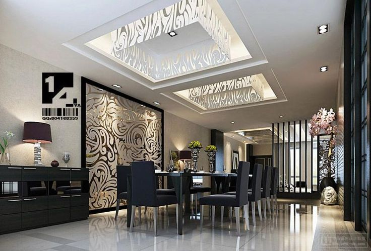 Superieur Interior Design, Classic Dining Chinese With Modern Ceiling Texture Made  From Transculent Glass: Wonderful