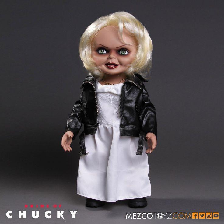 La+Fiancée+de+Chucky+poupée+parlante+Tiffany+Mezco+Toys