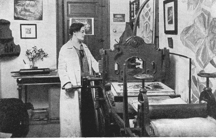 Helena Bochořáková-Dittrichová (July 31, 1894, Vyškov, Moravia – 28 March 1980, Brno, Czechoslovakia) was a Czech illustrator, graphic novelist, and later a painter. She is widely acknowledged as being the first female graphic novelist.