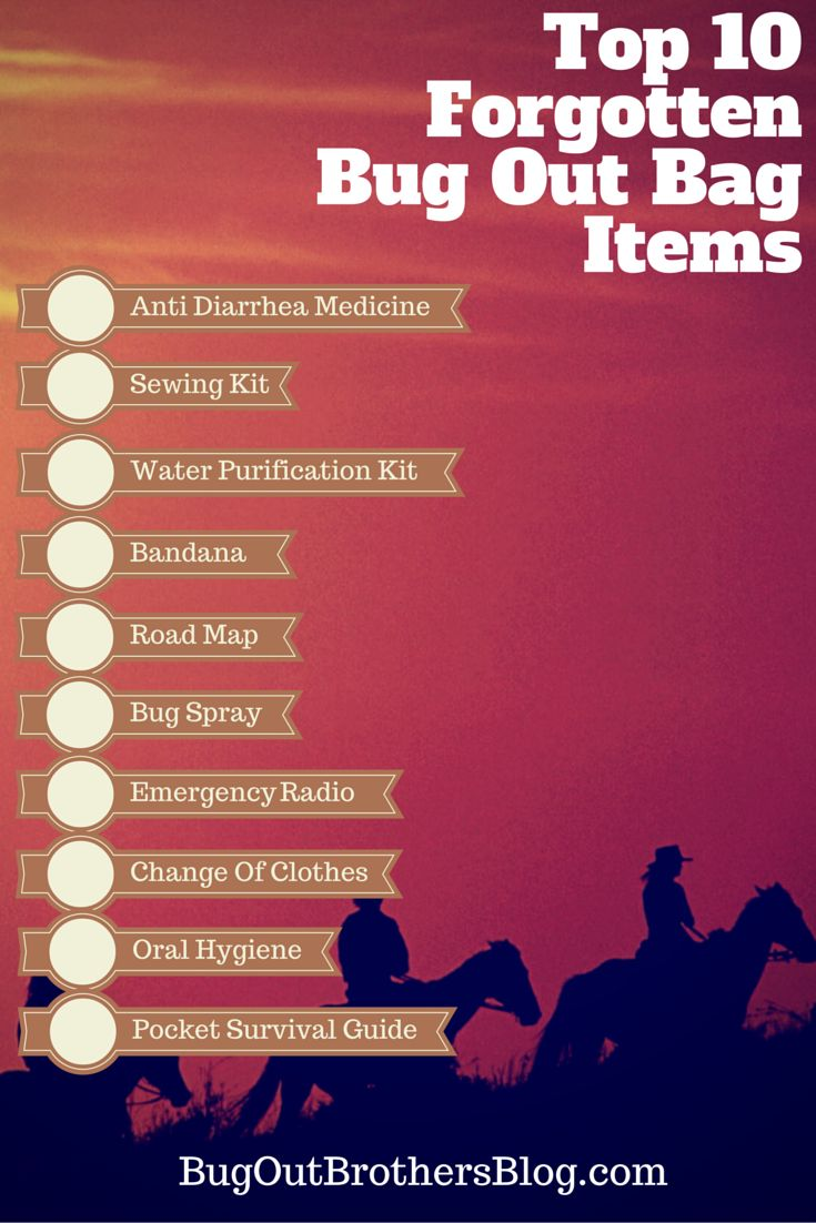 When most people put there bug out bags together theyget thebasics. They pack rope, knives,a tent, some matches and maybe a gun. But most people forget the little things that could end being the difference…