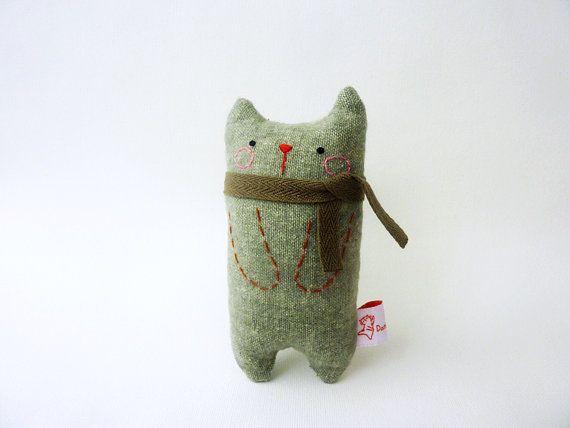Cat Art Doll, Gift For Boyfriend, Cat Miniature, Cute Cat, Doll Cat, Plush Cat, Toy Cat – Gift For Cat Lover