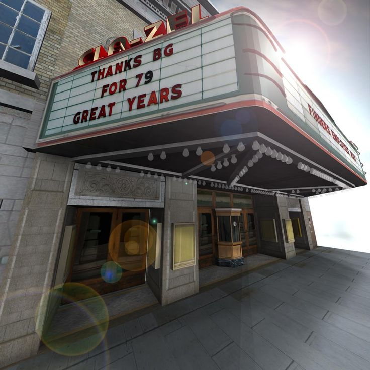 Cla Zel Theatre Heritage Project Bowling Green Ohio 16 000 Polygon Total
