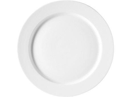 149,95 DKK.  Middagstallerkenen i Legio er et chikt stel i helglaseret porcelæn som med sin rene, enkle form lader maden tale for sig selv. Match nemt Legio seriens mange dele med hinanden, eksempelvis kan én og samme underkop anvendes til både kaffe- og tekop, cappuccinokop og portionsskål. Med Legio for du en slidstærk kvalitet der tåler ovn, mikroovn, fryser og maskinopvask, og som har en 30 dages tilfredshedsgaranti. Diameter: 28 cm. Design: Ole Palsby.