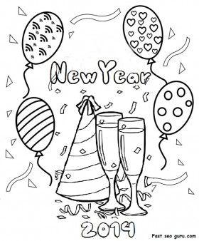 gelukkig nieuwjaar kleurplaten and nieuwjaar on