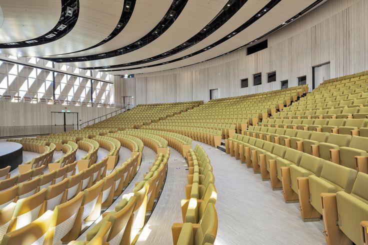 Aula Medica, Solna. Färdig 2013. Fotograf: Jean-Batiste Beranger