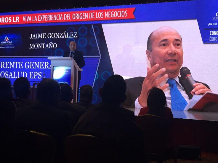 El Gerente General de Coosalud EPS, Jaime González Montaño, participó como ponente en el Foro de Cooperativismo que se realizó el día de ayer en Bogotá organizado por La República. Junto con los líderes de las cooperativas más grandes del país, entre ellas Colanta, Coomeva, la Universidad Cooperativa y Coopcentral, presentó los desafíos del sector, las mega-tendencias y las claves para ser más competitivos.