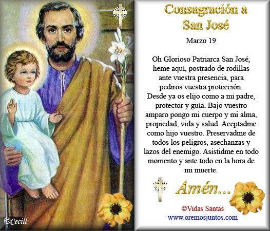 reflexion del dia de san jose | Imágenes del Día de San José con frases para el 19 de marzo ...