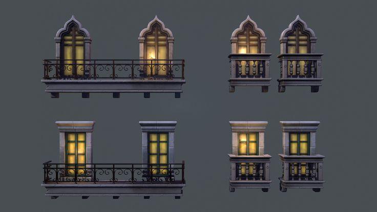 ArtStation - Window Variants , Tobias Koepp