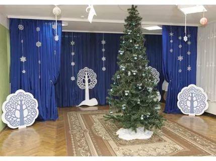 новогодние декорации в детском саду: 25 тыс изображений найдено в Яндекс.Картинках