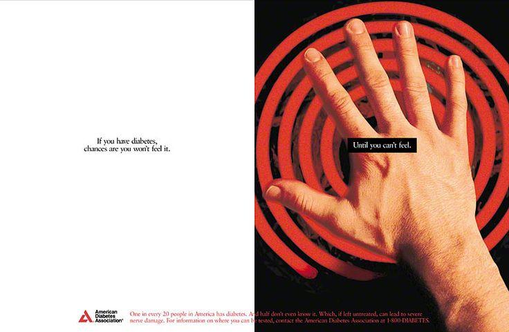 Pro-bono print advertising case study for American Diabetes Association.