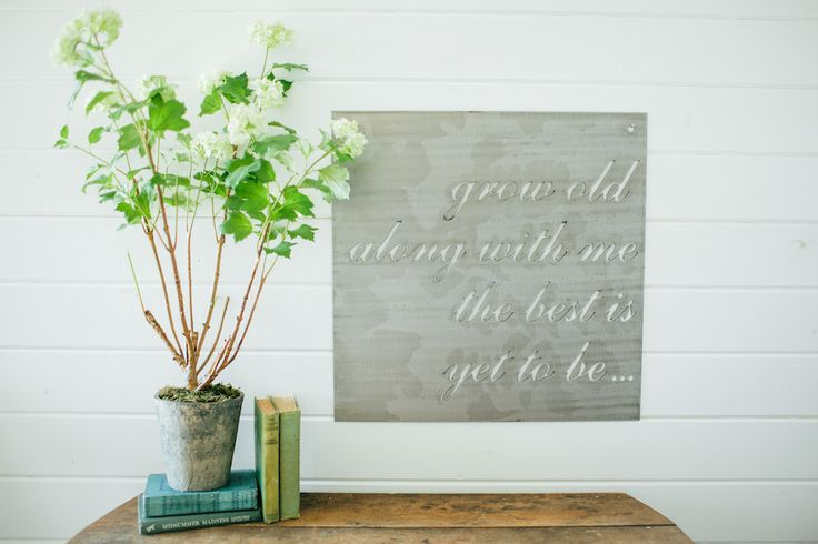 """""""Grow Old Together"""" Sign   The Magnolia Market"""