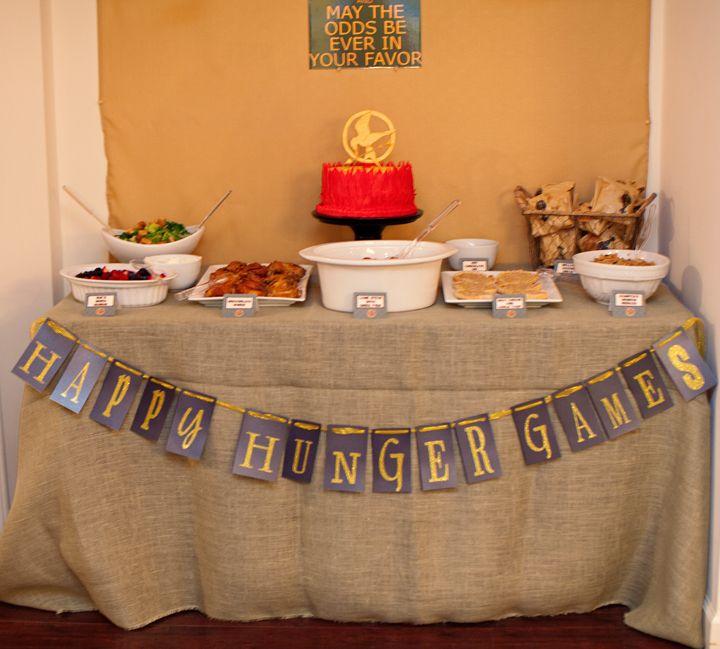 27 Best Hunger Games Banquet Images On Pinterest